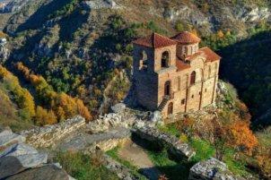 Асеновата Крепост от горе