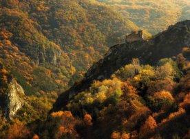 Асеновата Крепост през есента.