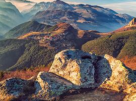 Панорама от Белинташ.