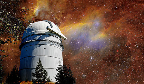 The Rozhen observatory is a beautiful place.