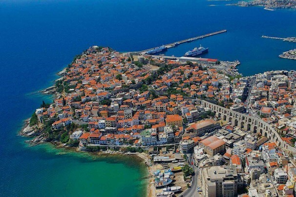 The city of Kavala on your trip to Greece from Rudozem-Xanthi