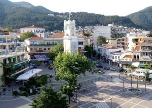 This is the town of Xanthi